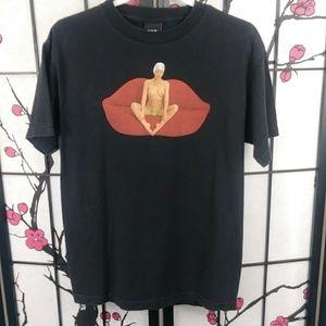 HUF Skate Nude Model Botanical Black T-Shirt